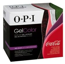 OPI Gel Soak Off Manicure Colors COCA COLA Collection 2014. Set of 6 colors kit