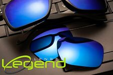 A46 Blue Mirror POLARIZED Replacement Legend Lenses For Oakley HOLBROOK