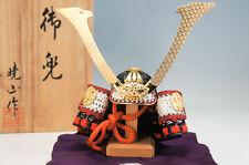 MINT Japan Miniature KABUTO SAMURAI Helmet by GYOUZAN KOSHIBA w/box F/S 488f16