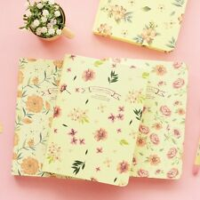 """""""Flowers Fall"""" 1pc Journal Diary Hard Cover Cute Planner Notebook Freenote Memo"""