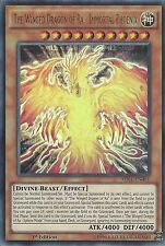 YU-GI-OH: THE WINGED DRAGON OF RA IMMORTAL PHOENIX ULTRA RARE MIL1-EN001 1ST ED