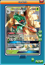Decidueye-GX Regular Art for Pokemon TCG Online (in Game PTCGO, Digital Card)