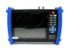 "7"" LCD Monitor Security CCTV Tester Ping IP Address/POE Check W/4G Card HVT3600"