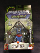 MASTERS OF THE UNIVERSE VS THE SNAKE MEN SKY STRIKE STRATOS FIGURE MATTEL HE-MAN