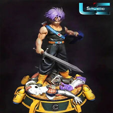 NEW Dragon Ball Collectable GK Resin UCS Trunks 1:4 original rare statue LED
