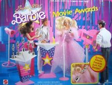 Vintage Barbie Super Star Barbie Movie Awards Playset (Mattel 1988) Rare HTF
