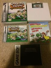 Nintendo Gameboy Advance Game Harvest Moon Friends Of Mineral Town 100% Cib MINT