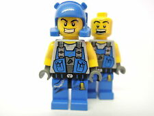 LEGO Figur Power Miners Beard   2 Gesichter pm006  8709 8907 8956