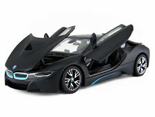 Rastar 1:24 BMW i8 Concept Car diecast metal model new in box black