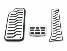 (Fits: KIA 2010 - 2014 Cadenza K7 ) AT Aluminum Fuel Sports Foot Pedal Full Set