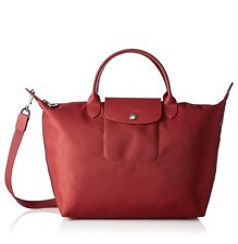 Longchamp Women's Le Pliage Neo Handbag Brand New - Red