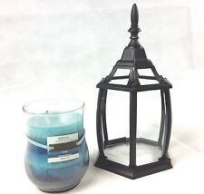 Purify Ocean Breeze Water Lily Candle With Aluminium & Glass Lantern Casing