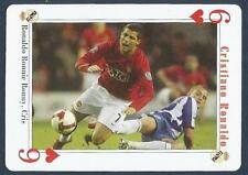 PLAYING CARD-FAR EAST ISSUE-CRISTIANO RONALDO-MANCHESTER UNITED-REF #6H