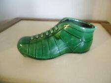 Cendrier en forme de chaussure de foot