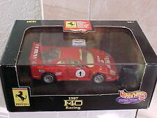 Hot Wheels 1987 Red Ferrari F40 Racing 1:43 scale