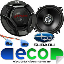 Subaru Impreza 1997-2003 JVC 13cm 520 Watts 2 Way Rear Door Car Speakers & Cable