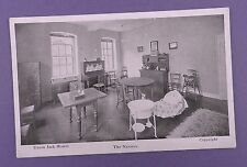 Union Jack Hostel, Military Club, London - The Nursery -  Old Unused Postcard