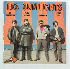 """Les SUNLIGHTS Disque 45T 7"""" LE DESERTEUR - LE GALERIEN - DISC AZ 1034 F Reduit"""