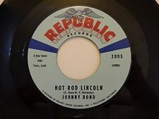 Lot of 7 - Johnny Bond 45 Hot Rod Lincoln/Five Minute Love Affair , 2005,