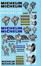 Decalbogen Michelin alt mit Bibendum 1:18 (426)