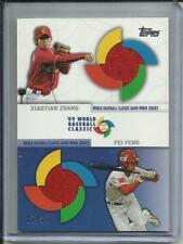 Xiaotian Xhang-Fei Feng 2009 Topps Update WBC Game Used Jersey #07/25