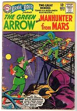 Brave and the Bold #50 - Green Arrow & Manhunter From Mars, Very Good Condition.