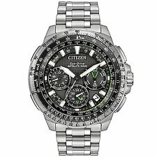 Citizen Promaster Navihawk Black Dial Stainless Steel Mens Watch CC9030-51E