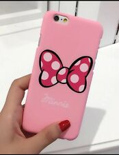 Pink Minnie Mouse Bow  Phone Case/cover For iPhone 7