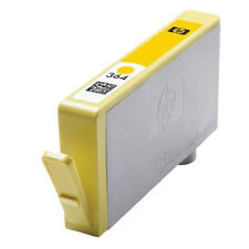 HP364 YELLOW   Cartridge NO INK EMPTY used chipped   original  EMPTY  HP 364