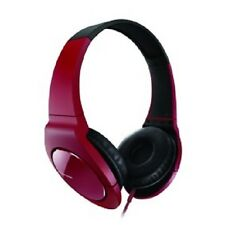 Pioneer SE-MJ721-T Fully Enclosed Dynamic Headphones With Powerful Bass - RED