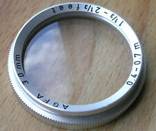 Agfa Natar close up   lens 30mm push fit silette