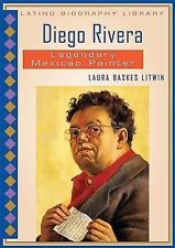 Diego Rivera: Legendary Mexican Painter (Latino Biography Library)-ExLibrary