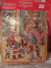 Advent Calendar from Denmark Santa Paying A Visit