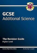 GCSE Additional Science Revision Guide - Higher: The Rev..., CGP Books Paperback