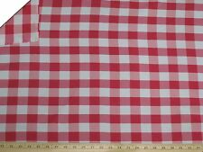 """15 Yards Checkered Fabric 60"""" Wide Gingham Buffalo Check Tablelcoth Fabric Decor"""