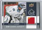 09-10 2009-10 UPPER DECK ROBERTO LUONGO UD GAME JERSEY SERIES 1 GJ-RL CANUCKS
