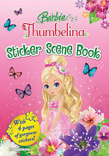 Barbie Thumbelina: Sticker Scene Book, , New Book