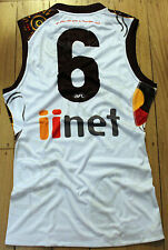 Hawthorn Josh Gibson Player Issue Indigenous Football Jumper Guernsey Size L