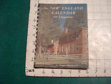 vintage the New England Calendar for engagements 1957: w lots of black & white