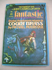 """""""FANTASTIC STORIES"""" 6/75 VFN! ROBERT E. HOWARD STORY! `COUNT BRASS`BY MOORCOCK!"""