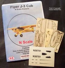 Osborn Models 3089 – Piper J-3 Cub- N Scale