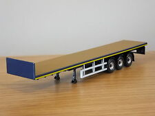 CORGI HAULIERS RENOWN COLLETT TRANSPORT FLATBED TRUCK TRAILER MODEL CC15211 1:50