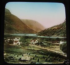 Glass Magic lantern Slide UNKNOWN LOCATION 10 C1890 . NORWAY L65