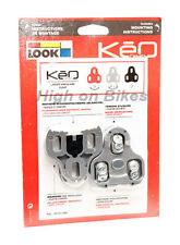 Look Keo Cleats Road Bike Clipless Pedal Cleats - Grey