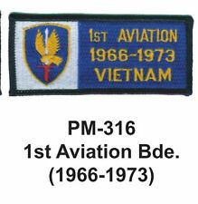 "3""  1ST AVIATION BDE.(1966-1973) Embroidered Military Patch"