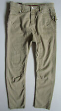 Men's United Kingdom Of Luke Low Crotch Stone/Cream Chinos/Jeans ~ W32""