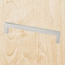 Kitchen Cabinet Hardware Square Bar Pulls ps25 Satin Nickel 320 mm CC Handle