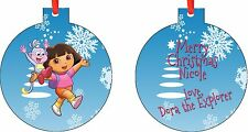 Personalized Dora Ornament ( Add Any Message You Want)