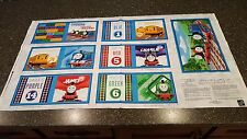 Thomas the Tank Engine Block Cloth Book Panel 23x42 Color Express Railway Train