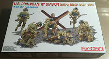 DRAGON 6211 - U.S. 29th INFANTRY DIVISION OMAHA BEACH D-DAY 1944 - 1/35 NUOVO